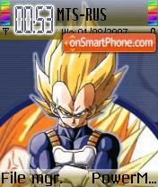 Vegita theme screenshot