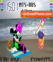 Disney Picnic es el tema de pantalla
