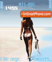 Beach 12 es el tema de pantalla