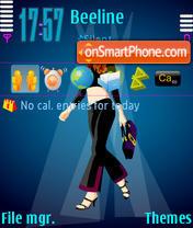 Fashion Girl 9 theme screenshot