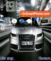 Audi S5 theme screenshot
