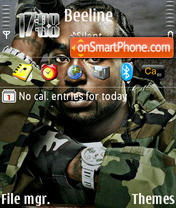 Young Buck theme screenshot