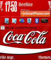 CocaCola 01 theme screenshot