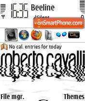 Скриншот темы Fashion Roberto Cavalli