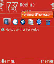 Red Innovation theme screenshot