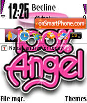 Angel 06 theme screenshot