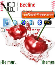 Cherry 02 tema screenshot