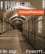Metro es el tema de pantalla