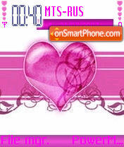 Pink Heart es el tema de pantalla