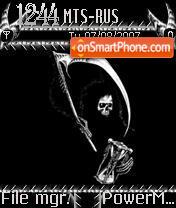 Death 01 theme screenshot