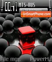Red Cube es el tema de pantalla