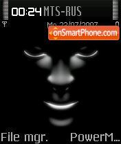 Black Mask theme screenshot