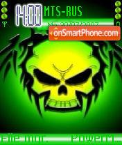 Green Skull 02 es el tema de pantalla