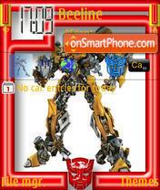 Скриншот темы Transformers 06