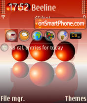 ZZ Three Spheres HBE theme screenshot