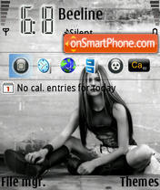 Avril 03 theme screenshot