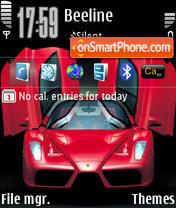 Скриншот темы Ferrari Enzo 01