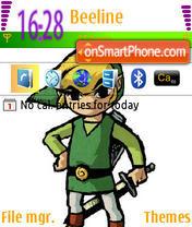 Wind Waker theme screenshot
