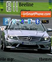 C 63Amg N73 theme screenshot