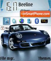 Porsche 911 01 theme screenshot