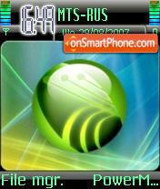 Vista Green Tapon theme screenshot