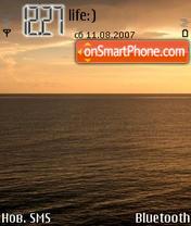 Скриншот темы Sea