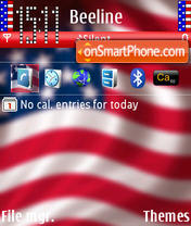 Repent America theme screenshot