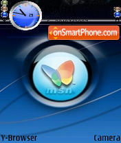 MSN tema screenshot