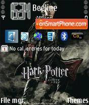 Скриншот темы Harry Potter
