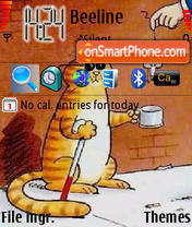Poor Cat tema screenshot