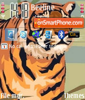 Tiger Theme-Screenshot