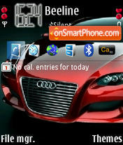 Audi tema screenshot