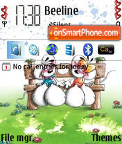 Mouse Love tema screenshot