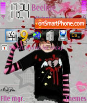 Скриншот темы Broken Heart