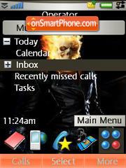 Ghost Rider theme screenshot