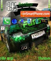 Скриншот темы Golf 4