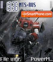Autobots es el tema de pantalla