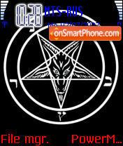 Satanic Mantra theme screenshot