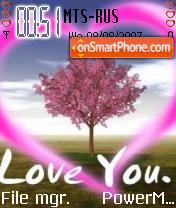 Love U 01 theme screenshot