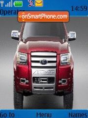 Ford 4 Trac theme screenshot