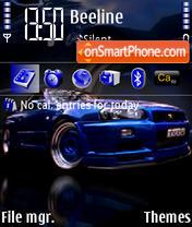 Nissan Skyline 01 theme screenshot