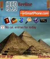 My Egypt New theme screenshot