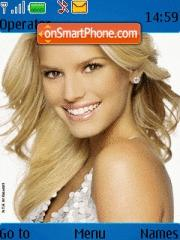 Jessica Simpson 03 theme screenshot