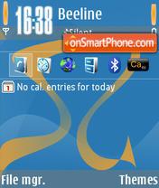 Symbian Guru QVGA SG5 theme screenshot