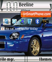 Subaru Impreza 02 theme screenshot