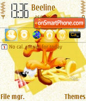 Poor Odie theme screenshot