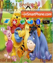 Vinni Pooh 9 theme screenshot