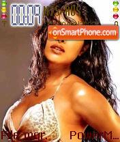 Capture d'écran Priyanka thème