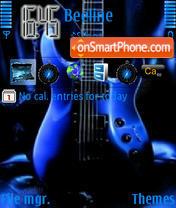 Скриншот темы Guitar