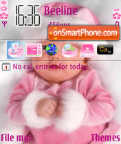 Скриншот темы Cute Baby